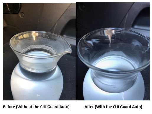 The CHI Guard Auto Reduces Oxidative Pollution In Salt Water.